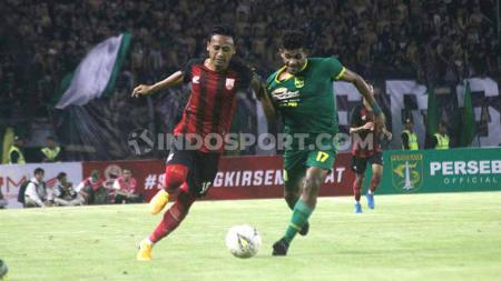 Meski kalah 0-4 atas Persebaya, namun pelatih Persis Solo, Salahudin, mengaku puas dengan penampilan tim asuhannya. - INDOSPORT