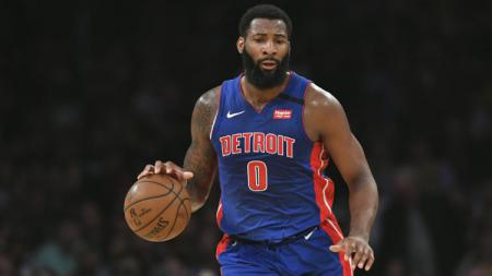Andre Drummond, pebasket klub NBA Detroit Pistons. - INDOSPORT