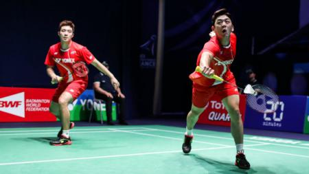 Lee Yong-dae/Kim Gi-jung juara Malaysia Masters 2020. - INDOSPORT