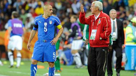 Marcello Lippi, sebagai pelatih berlabel jawara Piala Dunia, dirinya tentu pernah menangani pemain-pemain hebat, dan 11 di antaranya terangkum dalam starting XI terbaik. - INDOSPORT