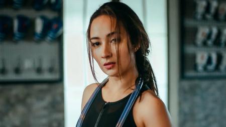 Naomi Zaskia, artis Indonesia yang rajin berolahraga. - INDOSPORT