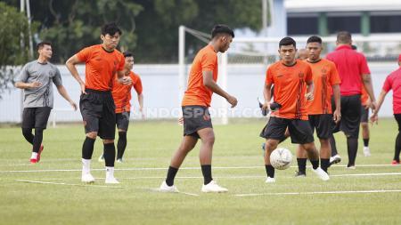 Persija Jakarta terus melakukan persiapan menjelang bergulirnya Liga 1 2020. - INDOSPORT