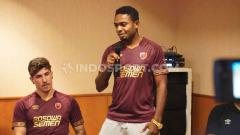 Indosport - Penyerang klub Liga 1 PSM Makassar, Osas Saha.