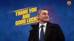 Indosport - Barcelona Resmi Pecat Ernesto Valverde Sebagai Pelatih