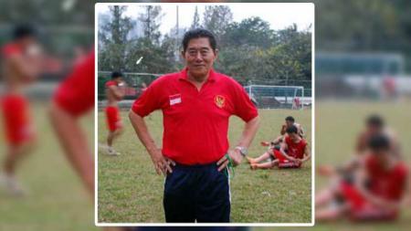 Kabar duka cita datang menghampiri dunia sepak bola Indonesia usai mantan pemain PSMS Medan dan Timnas Indonesia, Sarman Panggabean, dilaporkan meninggal dunia. - INDOSPORT
