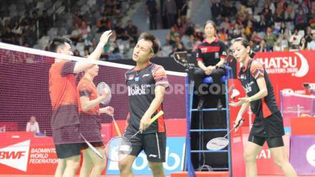 Meskipun lebih sering dikalahkan oleh wakil Indonesia, pelatih ganda campuran China, Yang Ming mengaku lebih mengkhawatirkan pasangan Eropa. - INDOSPORT