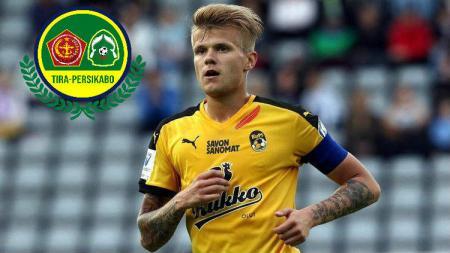 Petteri Pennanen resmi ke Tira Persikabo pada Liga 1 2020. - INDOSPORT