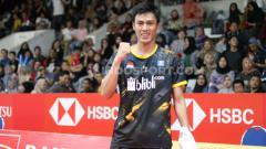 Indosport - Hasil pertandingan ajang Thailand Masters 2020 membuat Shesar Hiren Rhustavito (Indonesia) sukses ke perempatfinal usai kalahkan Koki Watanabe (Jepang), Kamis (23/01/20).