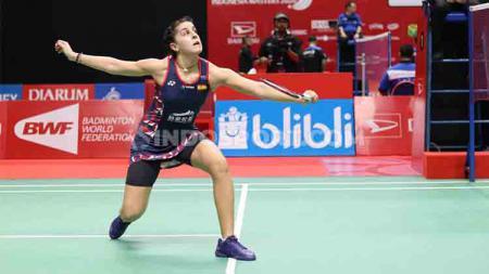 Jelang berhadapan dengan wakil Jepang, Nozomi Okuhara, di babak kedua Indonesia Masters 2020, Carolina Marin siapkan strategi ini. - INDOSPORT