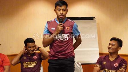 Pelatih kiper klub Liga 1 PSM Makassar, Hendro Kartiko, masih meraba potensi keempat kiper mudanya, yakni Syaiful Syamsuddin (26), Miswar Saputra (23), Hilmansyah (22), dan Reza Arya Pratama (20). - INDOSPORT