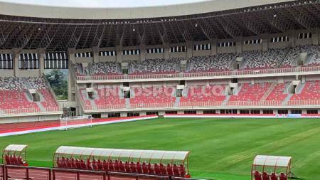 Salah satu stadion termegah di Indonesia, Stadion Utama Papua Bangkit masuk ke dalam daftar stadion terpopuler di seluruh dunia. - INDOSPORT