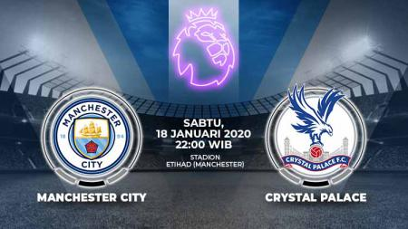 Link live streaming Liga Inggris pekan ke-23 antara Manchester City vs Crystal Palace. - INDOSPORT