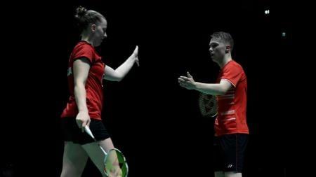 Berhasil mengalahkan pasangan peringkat ketiga dunia di Indonesia Masters 2020, bagaimana peringkat BWF, Thom Gicquel/Delphine Delrue? - INDOSPORT