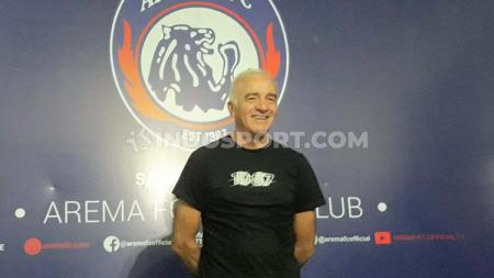 Mario Gomez langsung mengagendakan program Training Centre (TC), usai ditunjuk secara resmi sebagai pelatih klub Liga 1, Arema FC. - INDOSPORT