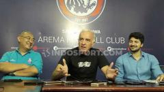 Indosport - Arema FC langsung membebankan target tinggi untuk kembali tembus ke kompetisi Asia kepada bagi Mario Gomez.
