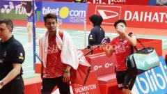 Indosport - Respon Richard Mainaky Terhadap Rencana Pensiun Tontowi Ahmad