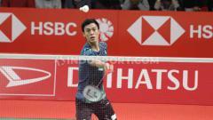 Indosport - Hadapi sesama wakil Indonesia, yaitu Ihsan Maulana Mustofa di babak pertama Spain Masters 2021, pebulutangkis Shesar Hiren Rhustavito sudah siapkan hal ini.