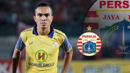 Paulo Sitanggang dikabarkan akan gabung ke klub Liga 1, Persija Jakarta. - INDOSPORT