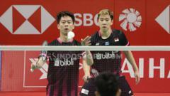 Indosport - Legenda ganda putri Jepang, Ayaka Takahashi mengaku terpana dengan pasangan Kevin Sanjaya/Marcus Gideon dan legenda tunggal putra China, yaitu Lin Dan.