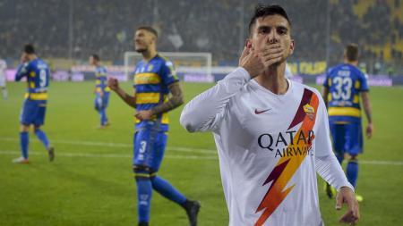 Timnas Italia harus menerima kabar buruk menjelang bergulirnya Euro 2020, setelah harus mencoret kapten AS Roma, Lorenzo Pellegrini, dari skuat. - INDOSPORT