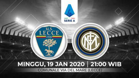 Berikut prediksi pertandingan Serie A Liga Italia antara Lecce vs Inter Milan, Minggu (19/01/20). - INDOSPORT