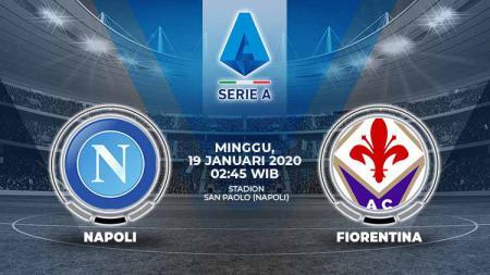Pertandingan antara Napoli vs Fiorentina (Serie A Italia). - INDOSPORT