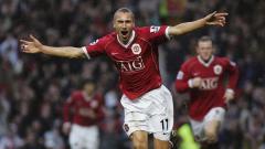 Indosport - Henrik Larsson, eks pemain klub Liga Inggris, Manchester United.