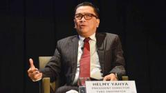 Indosport - Helmy Yahya akan menggelar konferensi pers setelah diberhentikan dari jabatan Direktur Utama TVRI oleh Dewan Pengawas Lembaga Penyiaran Publik itu gara-gara Liga Inggris.