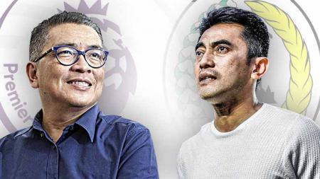 Helmy Yahya dan Seto Nurdiyantoro. - INDOSPORT