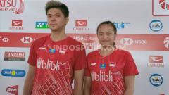 Indosport - Begini syarat pasangan ganda campuran Indonesia Praveen Jordan/Melati Daeva Oktavianti bisa lolos ke BWF World Tour Finals 2021.