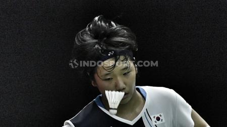Wonderkid asal Korea Selatan yakni An Se-young mengakui sering nangis ketika dirinya menelan kekalahan dulu di kompetisi bulutangkis internasional. - INDOSPORT