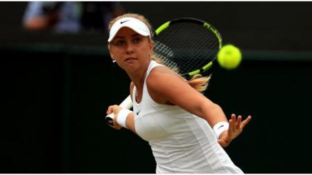 Petenis muda asal Rusia, Anastasia Patapova, kini tengah berkibar karena akan berhadapan dengan Serena Williams di ajang Australia Terbuka 2020. - INDOSPORT