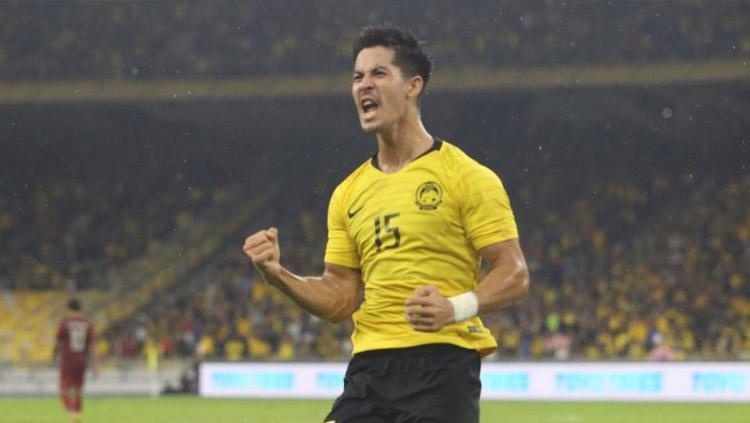 Pemain kelahiran Australia berpaspor Malaysia Brendan Gan yang kini bermain untuk Selangor FA. Copyright: twentytwo13.my