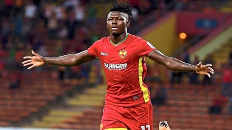 Pemain Selangor FA Ifedayo Olusegun (Nigeria). Copyright: thestar.com.my