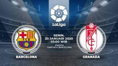 Indosport - Link Live Streaming Pertandingan LaLiga Spanyol: Barcelona vs Granada.