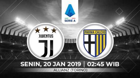 Berikut link live streaming pertandingan Serie A Liga Italia antara Juventus vs Parma, Senin (20/01/20). - INDOSPORT