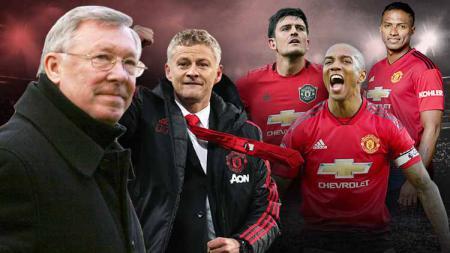 Maguire dan rendahnya kualitas Kapten Manchester United usai era Ferguson. - INDOSPORT