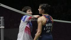 Indosport - Kalah di final Denmark Open 2020, pebulutangkis tunggal putri Spanyol Carolina Marin gagal sudahi dominasi wakil Asia.