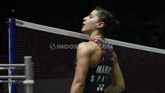 Indosport - Inilah juara bertahan Malaysia Open 2015 asal Spanyol, Carolina Marin yang pernah menyatakan rasa cintanya kepada negara Indonesia.