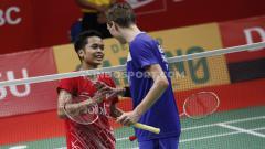 Indosport - Curhat tunggal putra Denmark Viktor Axelsen yang beri pujian setinggi langit ke Anthony Sinisuka Ginting usai melaju ke final Yonex Thailand Open 2021.