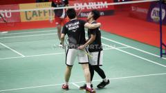 Indosport - Pasangan Mohammad Ahsan/Hendra Setiawan menyebut peran dari sosok-sosok ini usai memenangkan 'perang saudara' di semifinal Indonesia Masters 2020.