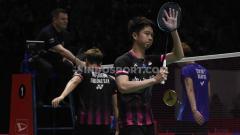 Indosport - Susy Susanti menganggap pasangan Hendra Setiawan/Mohammad Ahsan agak lengah, sementaran Kevin Sanjaya/Marcus Gideon sebagai kartu AS di semifinal BATC 2020.