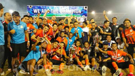 Klub Liga Super Malaysia, Felda United, keluar sebagai juara pertama turnamen internasional Edy Rahmayadi Cup 2020. - INDOSPORT
