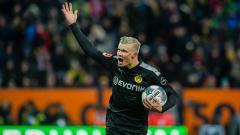 Indosport - Erling Braut Haaland lakoni debut impresif bersama klub Bundesliga Jerman, Borussia Dortmund.