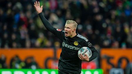 Erling Braut Haaland lakoni debut impresif bersama klub Bundesliga Jerman, Borussia Dortmund. - INDOSPORT