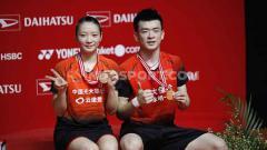 Indosport - Sadar dinasti anak asuhnya mulai diganggu oleh Indonesia, pelatih ganda campuran China, Yang Ming mengaku ogah pasang target tinggi di Olimpiade Tokyo 2020.