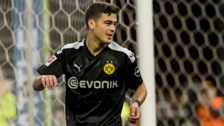 Giovanni Reyna, pemain klub Bundesliga Borussia Dortmund. - INDOSPORT
