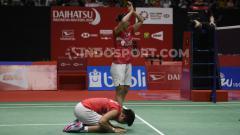 Indosport - Greysia Polii/Apriyani Rahayu juara Indonesia Masters 2020.