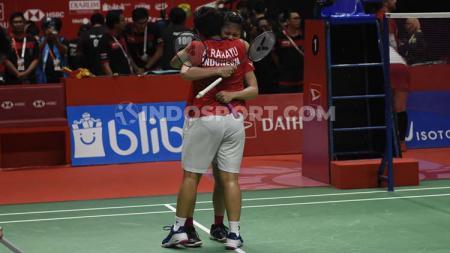 Pelatih ganda putri PBSI, Eng Hian menyebut dirinya surprise ketika pasangan Greysia Polii/Apriyani Rahayu berhasil menjuarai turnamen Indonesia Masters 2020. - INDOSPORT