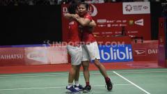 Indosport - Berikut jadwal wakil Indonesia di semifinal Spain Masters 2020, Sabtu (22/2/20) Greysia Polii/Apriyani Rahayu akan bertanding melawan wakil Inggris Chloe/Lauren